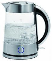 Glas/Edelstahl-Wasserkocher ''WK-5005'', 1,7l Füllmenge, 2200W
