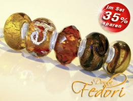 Glasbeads-Set Angebot 05 - Amber