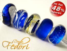 Glasbeads-Set Angebot 119 - Ocean Dreams