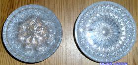 Glaskristall Untersetzer