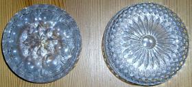 Foto 2 Glaskristall Untersetzer