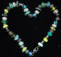 Glasperlen,  Pandora-Style, Trollbead-Style