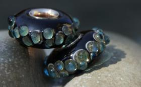 Foto 4 Glasperlen,  Pandora-Style, Trollbead-Style
