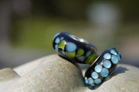 Foto 5 Glasperlen,  Pandora-Style, Trollbead-Style