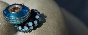 Foto 6 Glasperlen,  Pandora-Style, Trollbead-Style