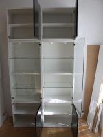 Foto 2 Glastür mit Schloss und Scharnieren für Ikea Besta Schrank (Sonderanfertigung)