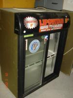 Glastürkühlschrank mit Schiebetüren Norcool S-33