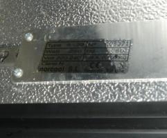 Foto 2 Glastürkühlschrank mit Schiebetüren Norcool S-33