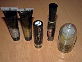 Glitzer Make-up Produkte