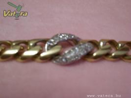 Foto 2 Gold Kette 18K mit diamanten