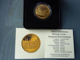 Gold Münze