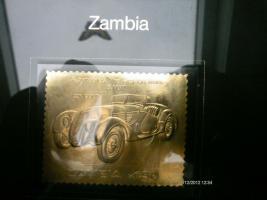 Goldbriefmarke