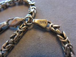 Foto 3 Goldkette 585 Königskette 45,84 Gramm Massiv