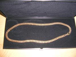 Goldkette Panzerkette absolut neu! ungetragen! 42 cm, 47,1 Gramm 333