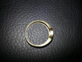 Foto 5 Goldring 585 mit Saphir+ Rubin+ Smaragd+ Diamant