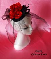 Gothic Burlesque Headpiece Tellerh�tchen