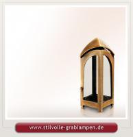 Grablaternen aus Bronze Grablaternen Grablichter Grableuchten Grablampen
