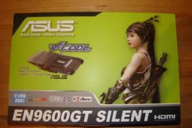 Grafikkarte Asus EN9600GT SILENT 512 MB HDMI PCI Express 2.0