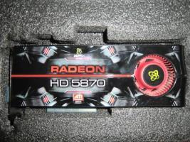 Grafikkarte XFX HD5870 1024MB DDR5