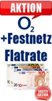 Gratis-Aktion O2 Flatrate Aktion im O2 direct Flat M 10.00 Euro