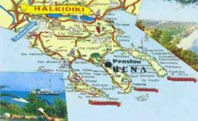 Foto 4 Griechenland-Chalkidiki-wandern-biken-Athos Kreuzfahrt-Pension am Meer