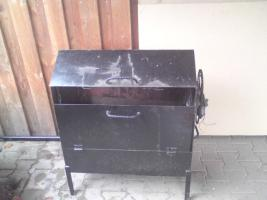 Foto 2 Grilldrehspieß mit Scheibenwischermotor