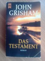 Grisham, John Titel: Das Testament. (Tb)