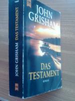 Foto 3 Grisham, John Titel: Das Testament. (Tb)