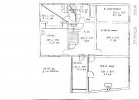 Foto 4 Gross-Zimmern 3-ZKBB mit neuer Gasheizung