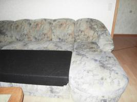 Foto 4 Gro�e Couch mit Bettfunktion, mit Bettkasten