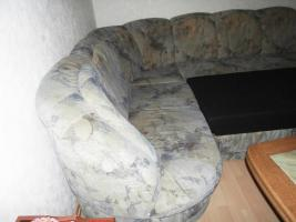 Foto 5 Gro�e Couch mit Bettfunktion, mit Bettkasten
