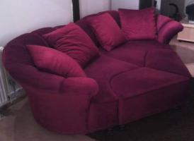 Große Designer Herz Couch
