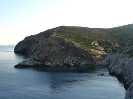 Grosse Insel in der Kykladengruppe/Griechenland