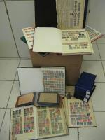 Grosse Kiste Briefmarken, Feldpost, Flugpost, &Dokumente, Militaria