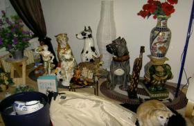 Große Porzellan Standfiguren