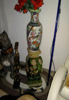 Foto 2 Große Porzellan Standfiguren