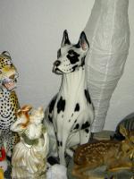 Foto 4 Große Porzellan Standfiguren
