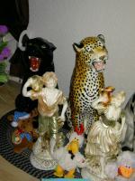 Foto 5 Große Porzellan Standfiguren