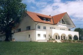 Grosse Villa im mediterranen Stil mit Büro-oder Praxisräumen und 4 Ferienwohnungen im Südschwarzwald