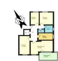 Foto 6 Große Wohnung im Schigebiet mit Wintergarten und Kaminofen