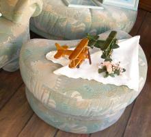 Foto 3 Große, gemütliche Couchgarnitur mit Rundecke und Fußhocker