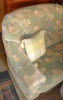 Foto 4 Große, gemütliche Couchgarnitur mit Rundecke und Fußhocker