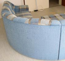 Foto 6 Große, moderne Couchgarnitur mit Schlaffunktion und Rundecke