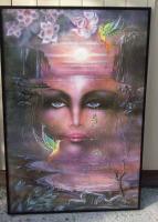 Gro�er Bilderrahmen mit Poster