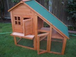 grosser hasenstall kaninchenstall kleintierhaus neu in bern von privat. Black Bedroom Furniture Sets. Home Design Ideas