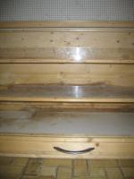 Foto 3 Großer Kleistierstall, 3 Etagen, Holz mit Plexiglasscheibe und Gitter