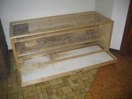 Foto 7 Großer Kleistierstall, 3 Etagen, Holz mit Plexiglasscheibe und Gitter