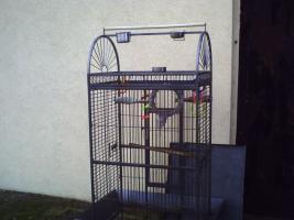 Foto 5 Großer Papageienkäfig in prima Zustand