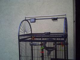Foto 6 Großer Papageienkäfig in prima Zustand