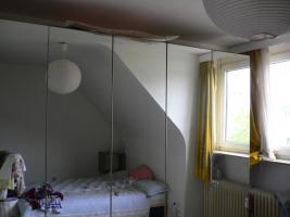 Großer geräumiger Spiegelschrank mit 5 Türen, VB 100, -